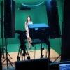 Освещение фона и студии приборами RDL
