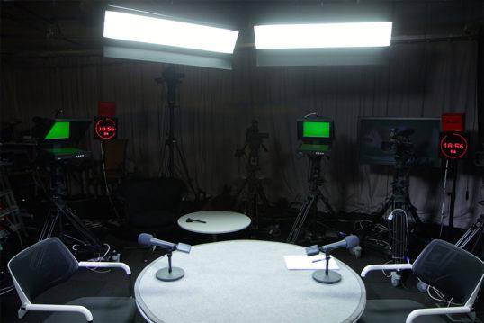 Освещение области съемки приборами RDL 4x1200S