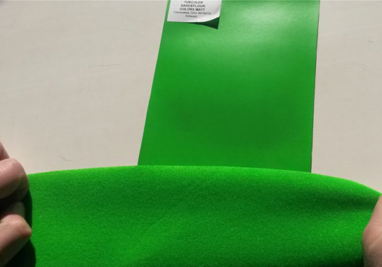 COLORX 150 и FABRICS OPTIC GREEN