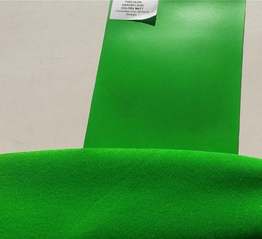 COLORX MATT и FABRICS OPTIC GREEN