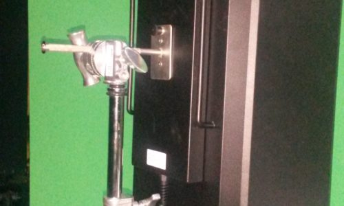 RDL1200F с новым кронштейном на съемках