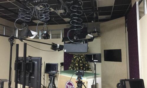Вид на студию